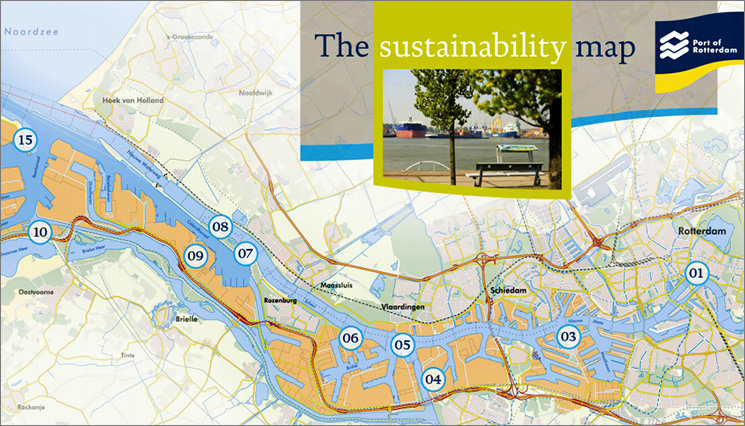 Port of Rotterdam publishes Sustainability Map\' - SAFETY4SEA