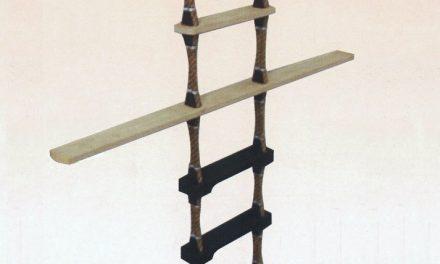 Pilot ladder magnets dangerously adrift
