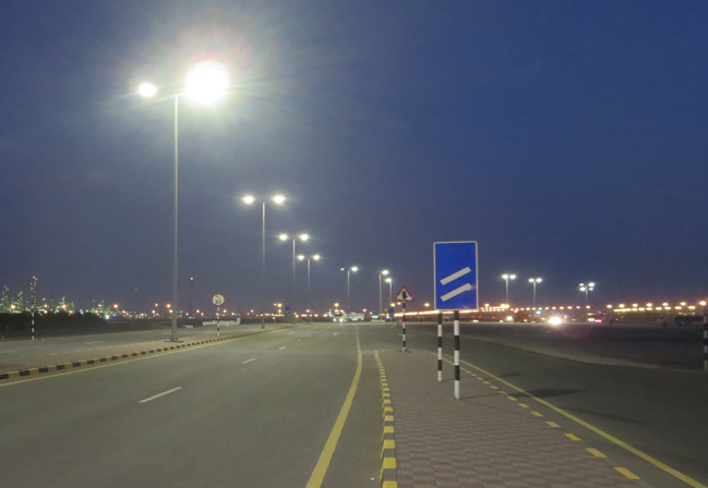 SOHAR builds on its Green Port credentials with LED street lighting