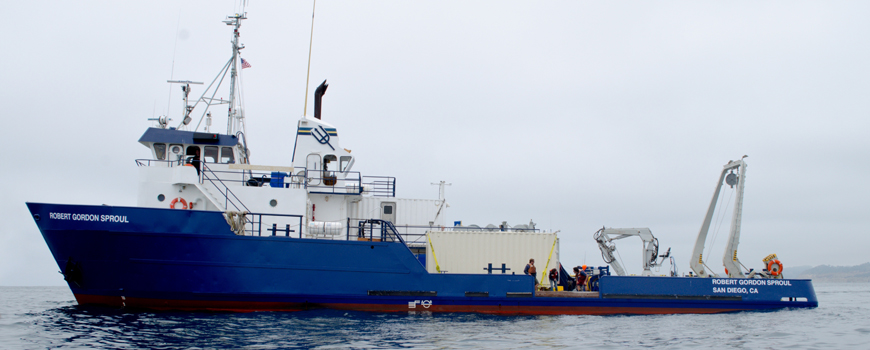 Research vessel runs on biofuel