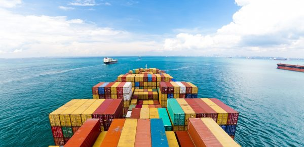 Number of containers lost at sea reduced
