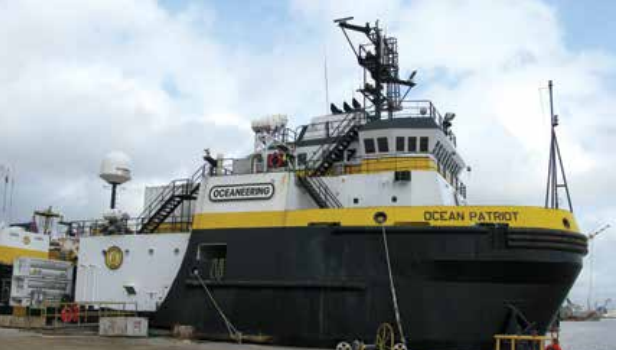 Damaged electrical cables lead to fire on board Ocean Patriot