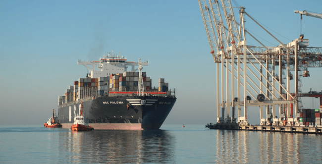 MSC orders 22,000 TEU container ships to DSME