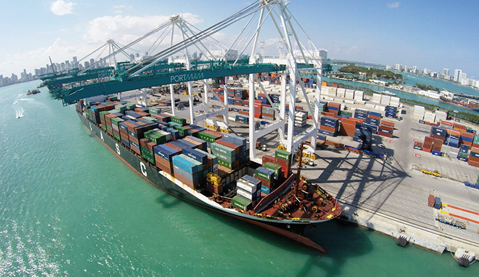 US container ports to see growth in 2018