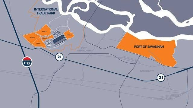 New Developments Position Savannah As Us Gateway Port Safety4sea - Savannah-on-us-map