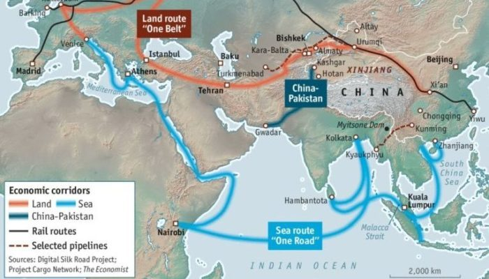 'One Belt, One Road' to reshape world shipping trade?