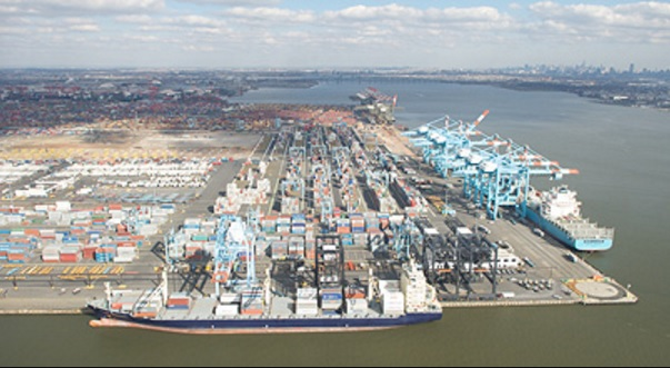 NYNJ terminals to accommodate world's largest container