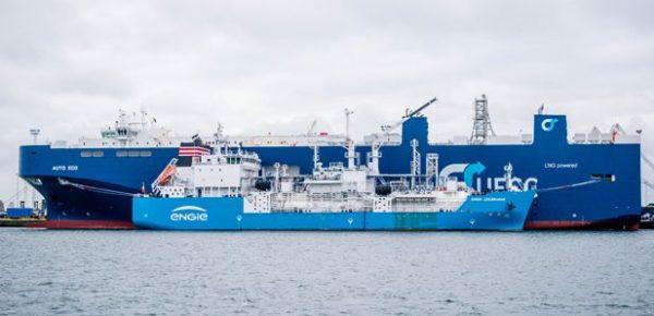 Ship-to-ship LNG bunkering starts in Zeebrugge port