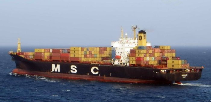 MSC fined for emissions violations from California