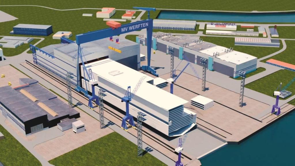 MV Werften starts construction of new shipbuilding hall