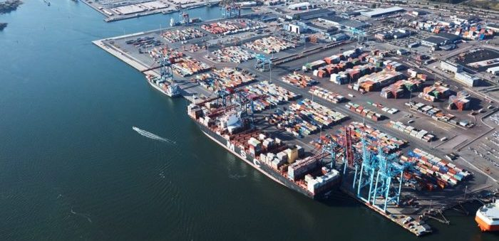 Port of Gothenburg container freight volumes up by 17%