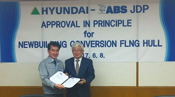 ABS approves HHI's FLNG hull design
