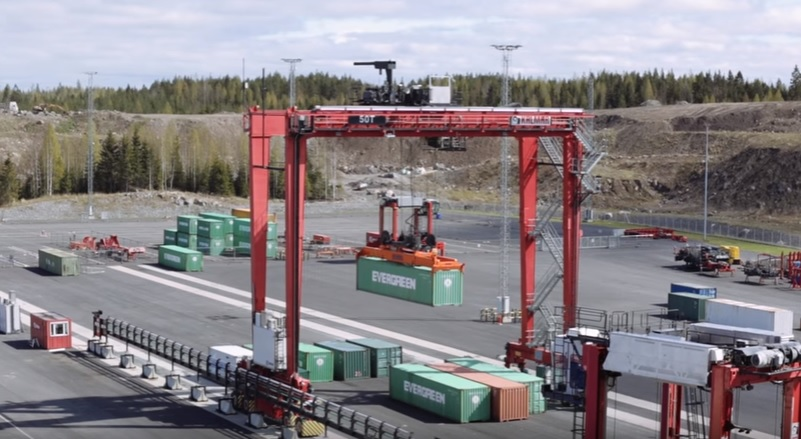 World's first fully-automated terminal completed