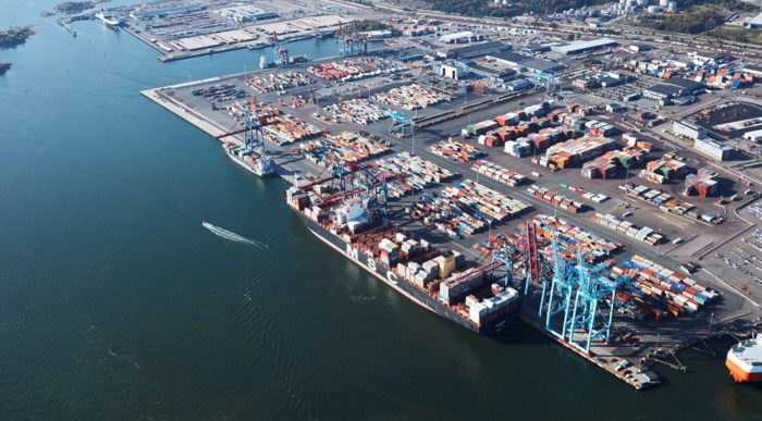 Port of Gothenburg releases sustainability report for 2017