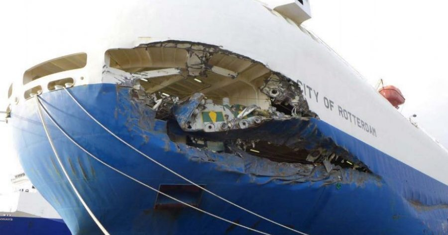 Captain and pilot sentenced for City of Rotterdam collision