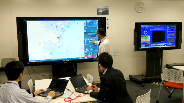 MOL marks a step to remote vessel operation technology