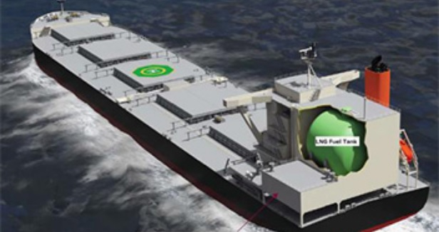Japanese trio gets AIP for LNG-fueled coal carrier