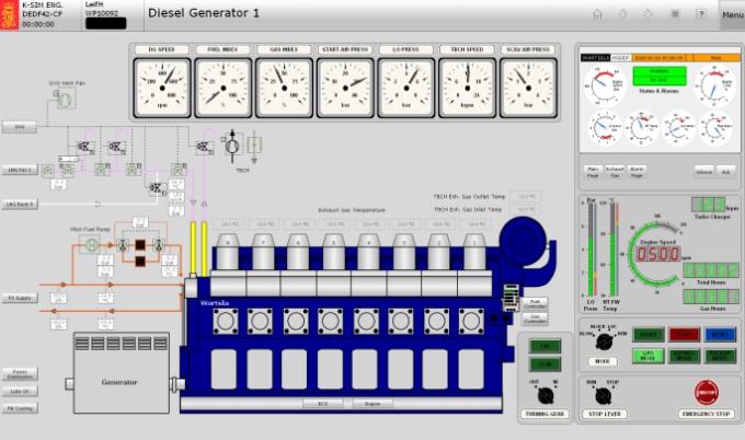 DNV GL approves Kongsberg's digital engine room simulators