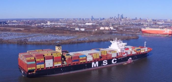 MSC mega container ships to feature 23,000 TEUs - SAFETY4SEA