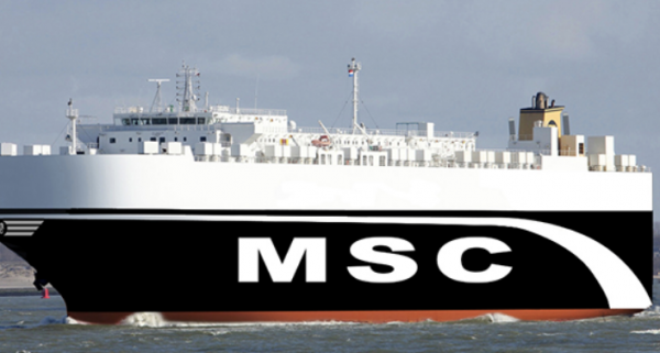 MSC launches new RO-RO service to West Africa