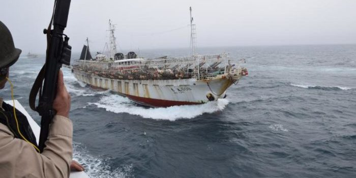 Argentine Coast Guard fires shots on Chinese fishing vessel