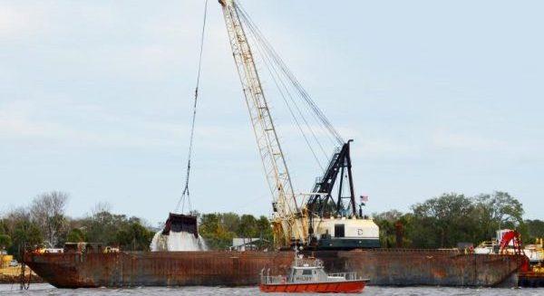 Jacksonville Harbor begins deepening project