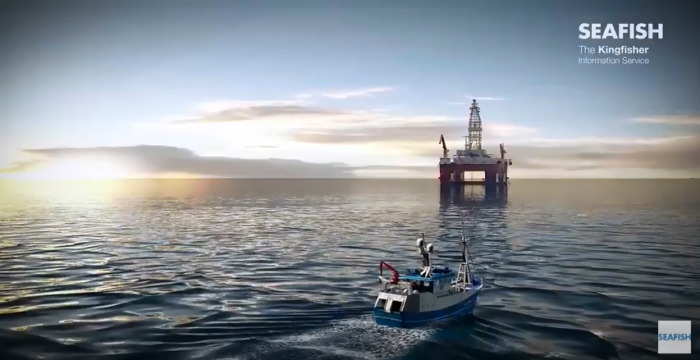 Animations present the dangers of oil and gas infrastructure for fishing