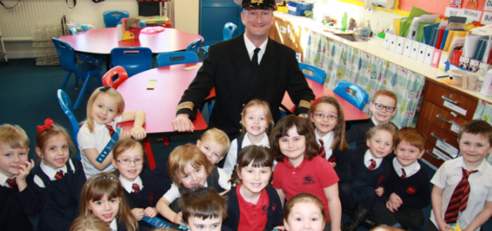 Promoting maritime careers to young people