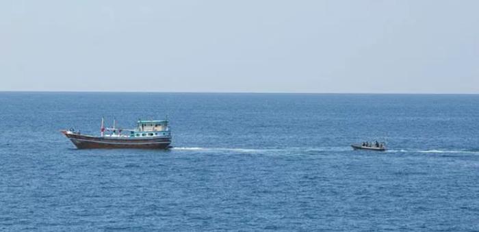 CMF captured 132 kgs of heroin in the Arabian Sea