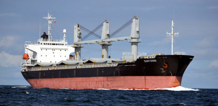 Libyan forces intercept Greek bulk carrier