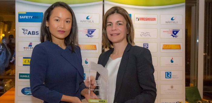 MPA Singapore receives the 2018 GREEN4SEA Port Award