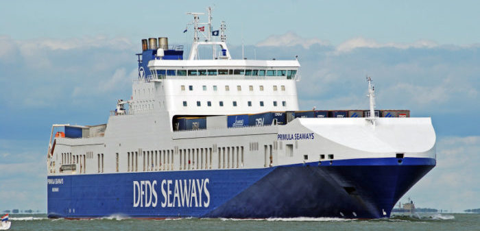 MSC containership collides with DFDS Ro-Ro ship off Vlissingen