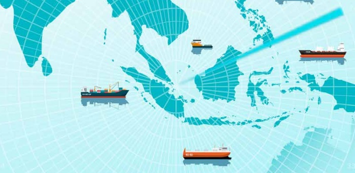 Five armed robberies against ships in Asia reported in February