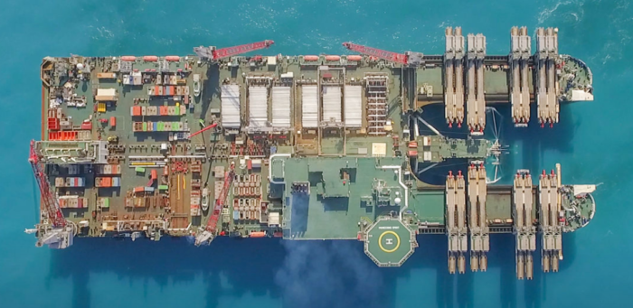 TurkStream offshore section installed by half