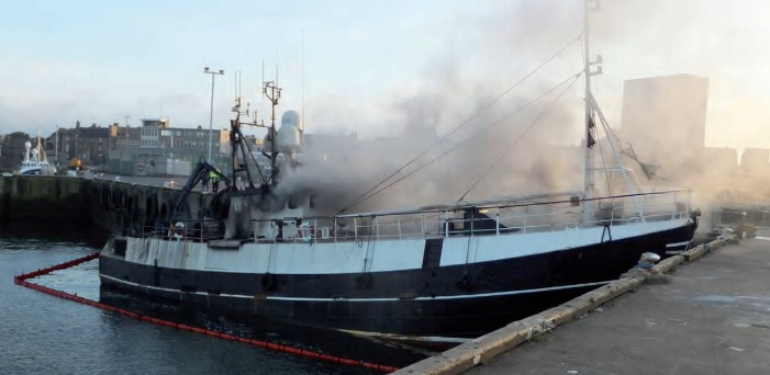 Poor maintenance of electrical equipment leads to fishing vessel total loss