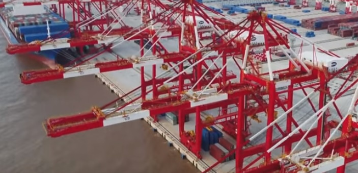World's biggest automated container terminal opens in Shanghai