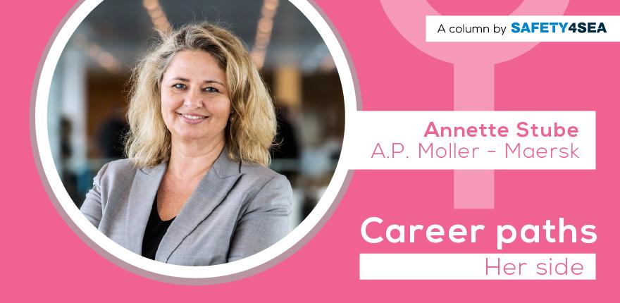 Career Paths: Annette Stube, A.P. Moller – Maersk
