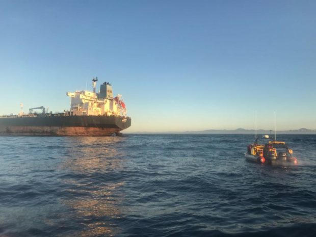 Gallery: Tanker and tug near grounding after towing fails