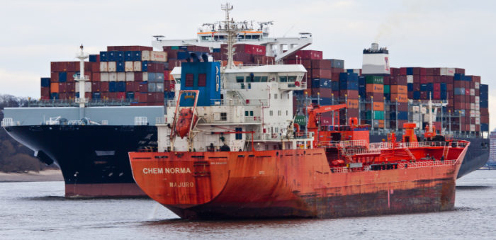 Tanker runs aground at St. Lawrence River