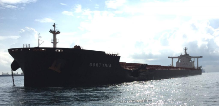 Bulk carriers collide after loss of AIS transmission