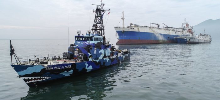 Belize removes flag of world's largest fish factory ship