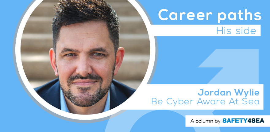 Career Paths: Jordan Wylie, Be Cyber Aware At Sea