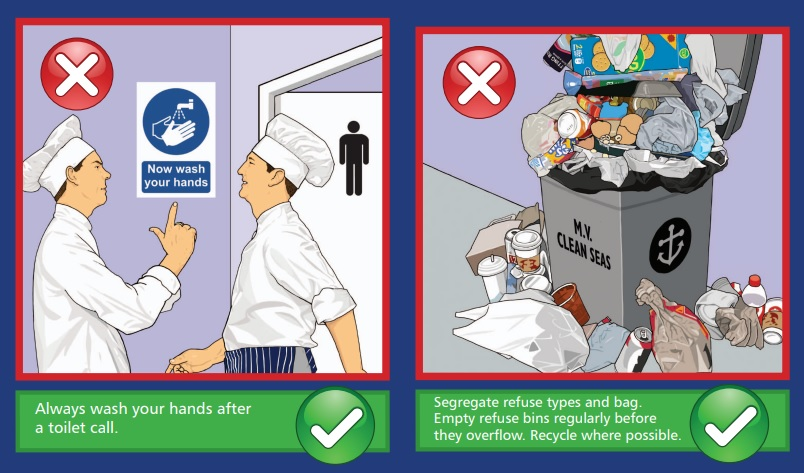 How to maintain galley hygiene onboard - SAFETY4SEA