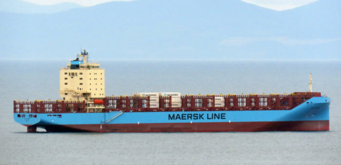 Venta Maersk successfully sails through Northern Sea Route