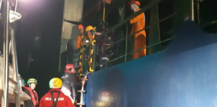 Injured stowaway rescued from cargo ship off Table Bay