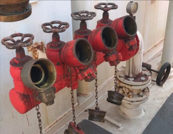 AMSA: Safety measures for high pressure fire-fighting systems