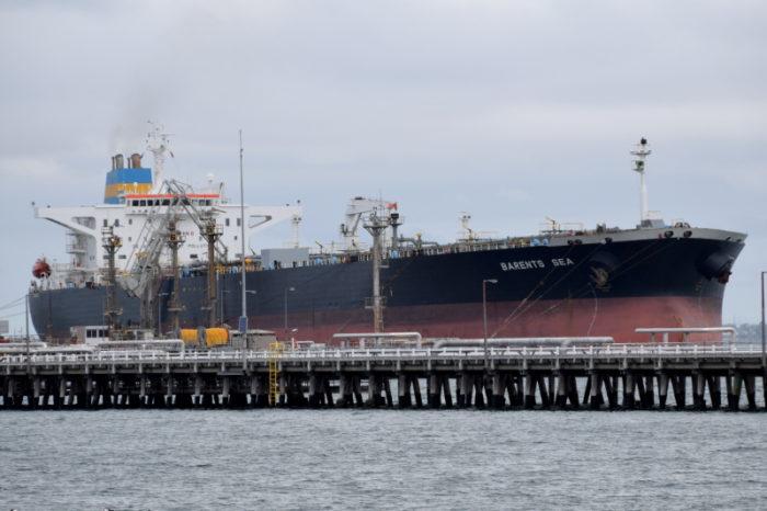 Militia releases Singaporean Aframax tanker