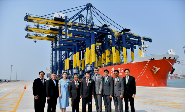 Thailand welcomes its first largest container terminal