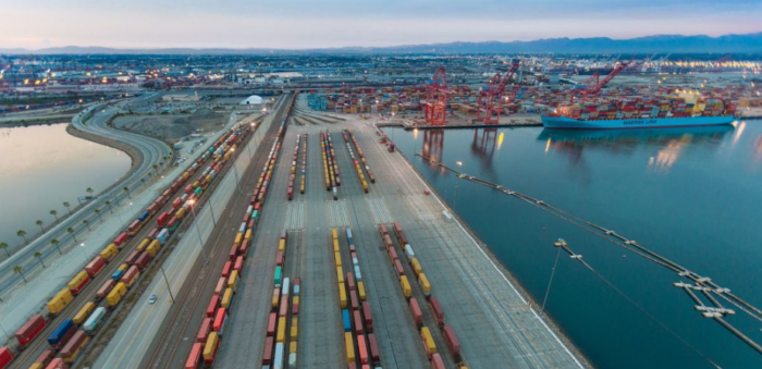 Port of Long Beach starts project on-dock rail support facility