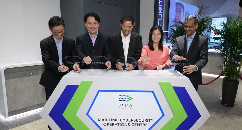 MPA Singapore opens maritime cyber security centre